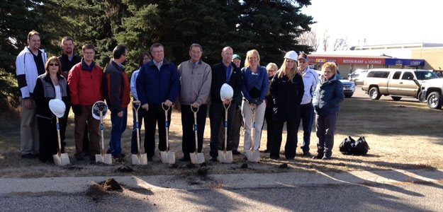 Groundbreaking in Rugby, ND