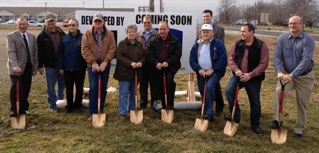 Groundbreaking in Newton, IL